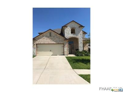Killeen Single Family Home For Sale: 3103 Cricklewood Drive
