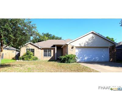 Temple Single Family Home For Sale: 4510 Danbury Drive