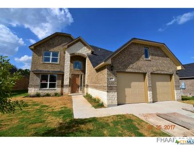 Killeen Single Family Home For Sale: 2603 Natural Lane