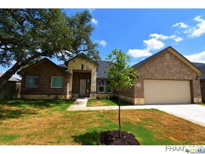 Killeen Single Family Home For Sale: 2607 Natural Lane