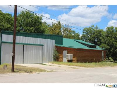 Lampasas Commercial For Sale: 708 Pecan Street