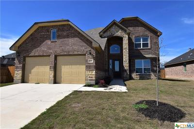 Killeen Single Family Home For Sale: 5107 Founders Trail