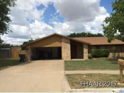 Killeen Single Family Home For Sale: 201 Petunia Circle