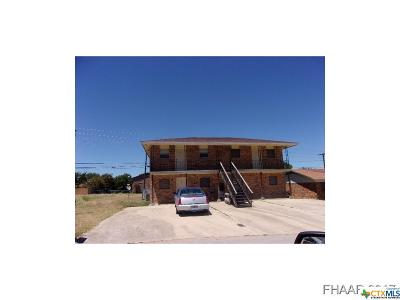 Copperas Cove Multi Family Home For Sale: 612 Sunset Lane