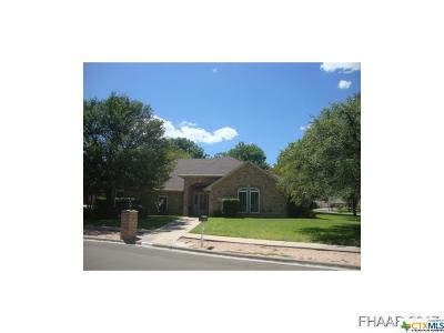 Killeen Single Family Home For Sale: 5802 Greenforest Circle