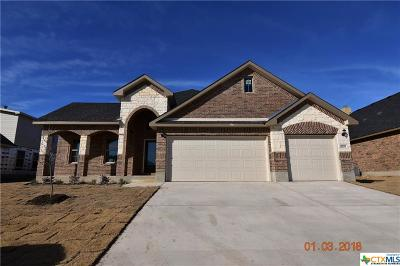 Killeen Single Family Home For Sale: 6205 Morganite