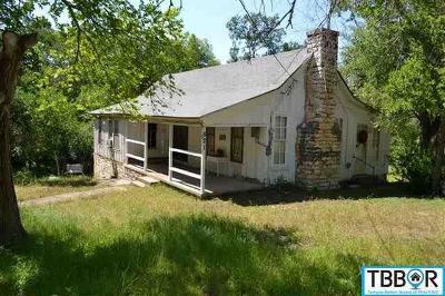 Salado Single Family Home For Sale: 821 Center Circle
