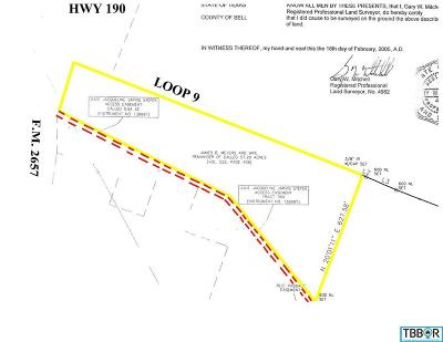 Copperas Cove Residential Lots & Land For Sale: Corner Of Highway 190 & Fm 2657