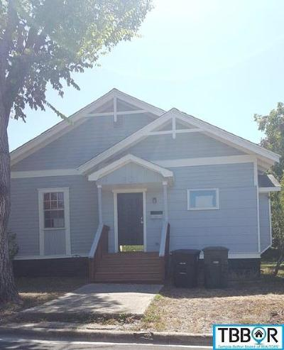 Temple Single Family Home For Sale: 901 5th