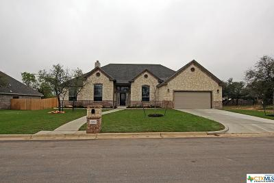 Belton Single Family Home For Sale: 2560 Bluff Circle Circle