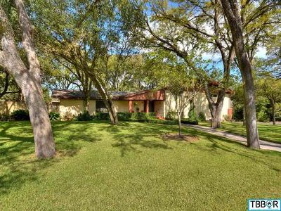 Belton Single Family Home For Sale: 502 22nd Avenue