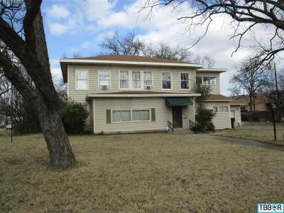 Temple Single Family Home For Sale: 314 Downs