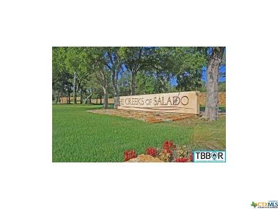 Salado Residential Lots & Land For Sale: 2000 The Creeks Drive