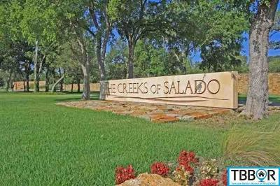 Salado Residential Lots & Land For Sale: 2034 The Creeks Drive