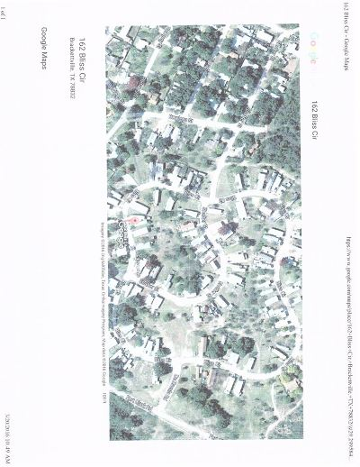 Brackettville Residential Lots & Land ACTIVE: 162 Bliss Circle