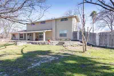 Brackettville, Del Rio, Comstock Single Family Home ACTIVE: 1538 And 1540 Qualia Drive