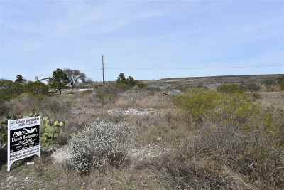 Brackettville, Del Rio, Comstock Residential Lots & Land ACTIVE: 109 Sequoia Drive