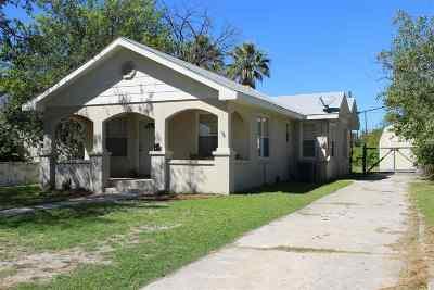 Brackettville, Del Rio, Comstock Single Family Home ACTIVE: 208 E 7th St