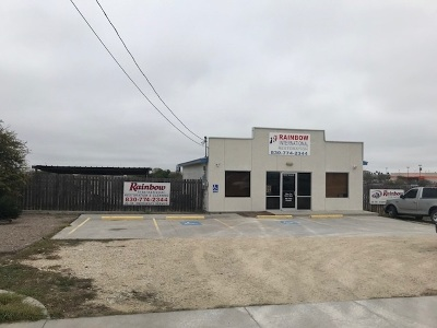 Brackettville, Comstock, Del Rio Commercial UNDER CONTRACT-OPTION: 120 S Terry St