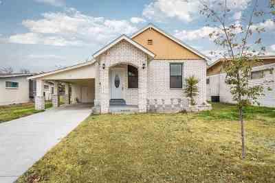 Del Rio Single Family Home ACTIVE: 1505 Avenue B
