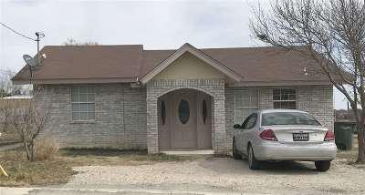 Brackettville, Del Rio, Comstock Single Family Home ACTIVE: 395 Dogwood