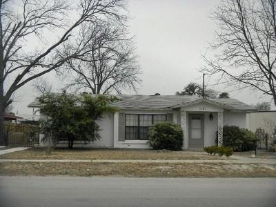 Brackettville, Del Rio, Comstock Single Family Home NEW: 1101 E 2nd. St.
