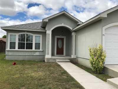 Brackettville, Del Rio, Comstock Rental NEW: 76 Yvonne-- Rental