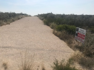 Brackettville, Del Rio, Comstock Residential Lots & Land ACTIVE: 5 Palomino Road