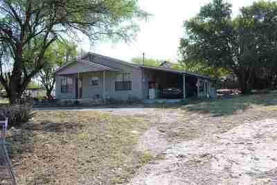 Brackettville, Del Rio, Comstock Single Family Home ACTIVE: 145 Birch Street