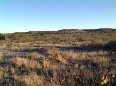 Brackettville, Del Rio, Comstock Residential Lots & Land ACTIVE: Langtry Rd. Ranch