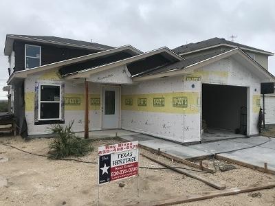 Brackettville, Del Rio, Comstock Single Family Home NEW: 1010 Tesoro Place