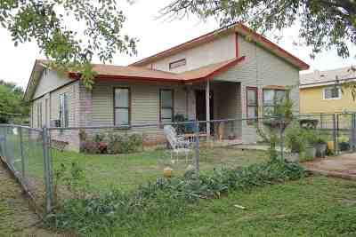 Brackettville, Del Rio, Comstock Single Family Home NEW: 508 E Bowie Street