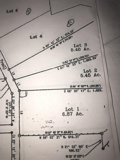 Brackettville, Del Rio, Comstock Residential Lots & Land ACTIVE: Lot 1 Prairie Flower Path