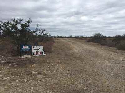 Brackettville, Del Rio, Comstock Residential Lots & Land ACTIVE: 610 Road Runner