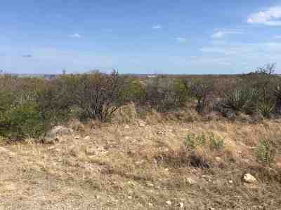 Brackettville, Del Rio, Comstock Residential Lots & Land ACTIVE: 52 Apache Tr.