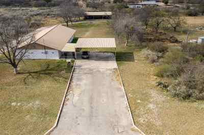 Brackettville, Del Rio, Comstock Single Family Home UNDER CONTRACT-OPTION: 602 Stampede Creek Road