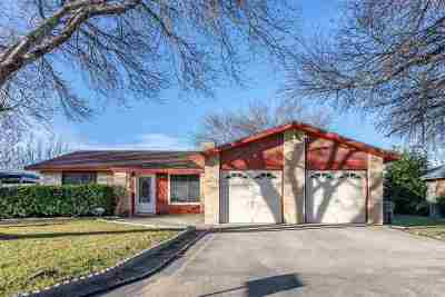 Del Rio TX Single Family Home UNDER CONTRACT-OPTION: $123,500