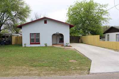 Del Rio Single Family Home UNDER CONTRACT-OPTION: 604 W 2nd Street