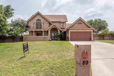 Del Rio Single Family Home ACTIVE: 89 Quail Creek Dr