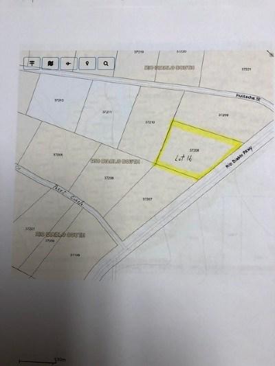 Brackettville, Del Rio, Comstock Residential Lots & Land ACTIVE: Lot 16 Rio Diablo Parkway