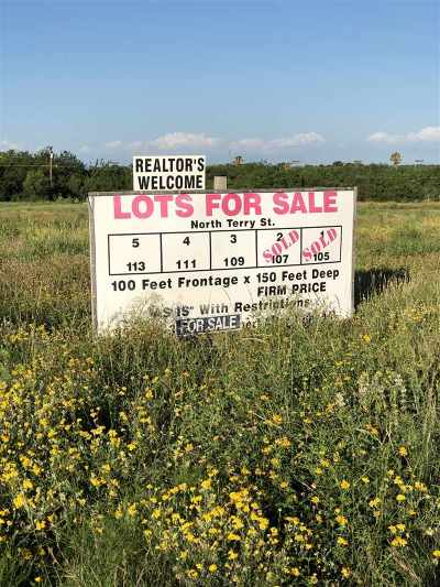 Brackettville, Del Rio, Comstock Residential Lots & Land ACTIVE: 109 N Terry Street