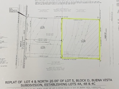 Brackettville, Del Rio, Comstock Residential Lots & Land ACTIVE: 157 S Nancy St