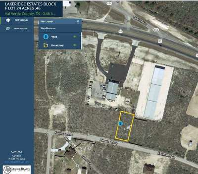 Brackettville, Del Rio, Comstock Residential Lots & Land ACTIVE: Lot 24 Kenwood Avenue