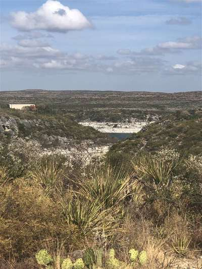 Brackettville, Del Rio, Comstock Residential Lots & Land ACTIVE: Lot 6, Acres 5+ Comanche Tr.