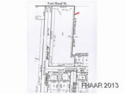 Killeen Residential Lots & Land For Sale: 2500 S Ft. Hood Street