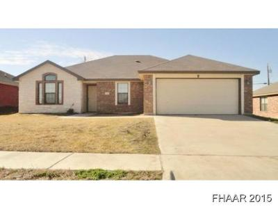Bell County Single Family Home For Sale: 3806 Foxglove Lane