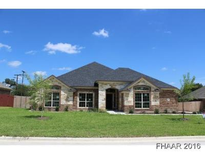 Harker Heights Single Family Home For Sale: 1617 Gold Splash Trail