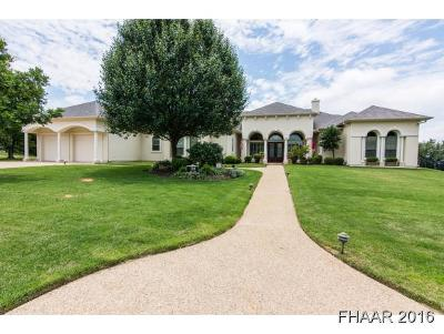 Harker Heights Single Family Home For Sale: 3214 Eagle Ridge