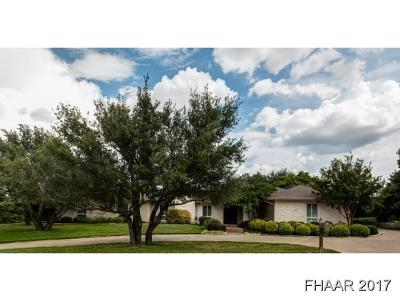 Killeen Single Family Home For Sale: 6006 Stillwood Circle