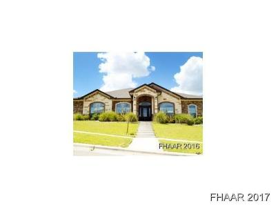 Killeen Single Family Home For Sale: 6505 Tanzanite